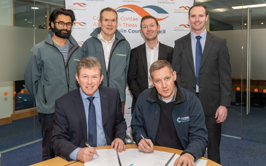 Tandy's Lane Park Contract Signing