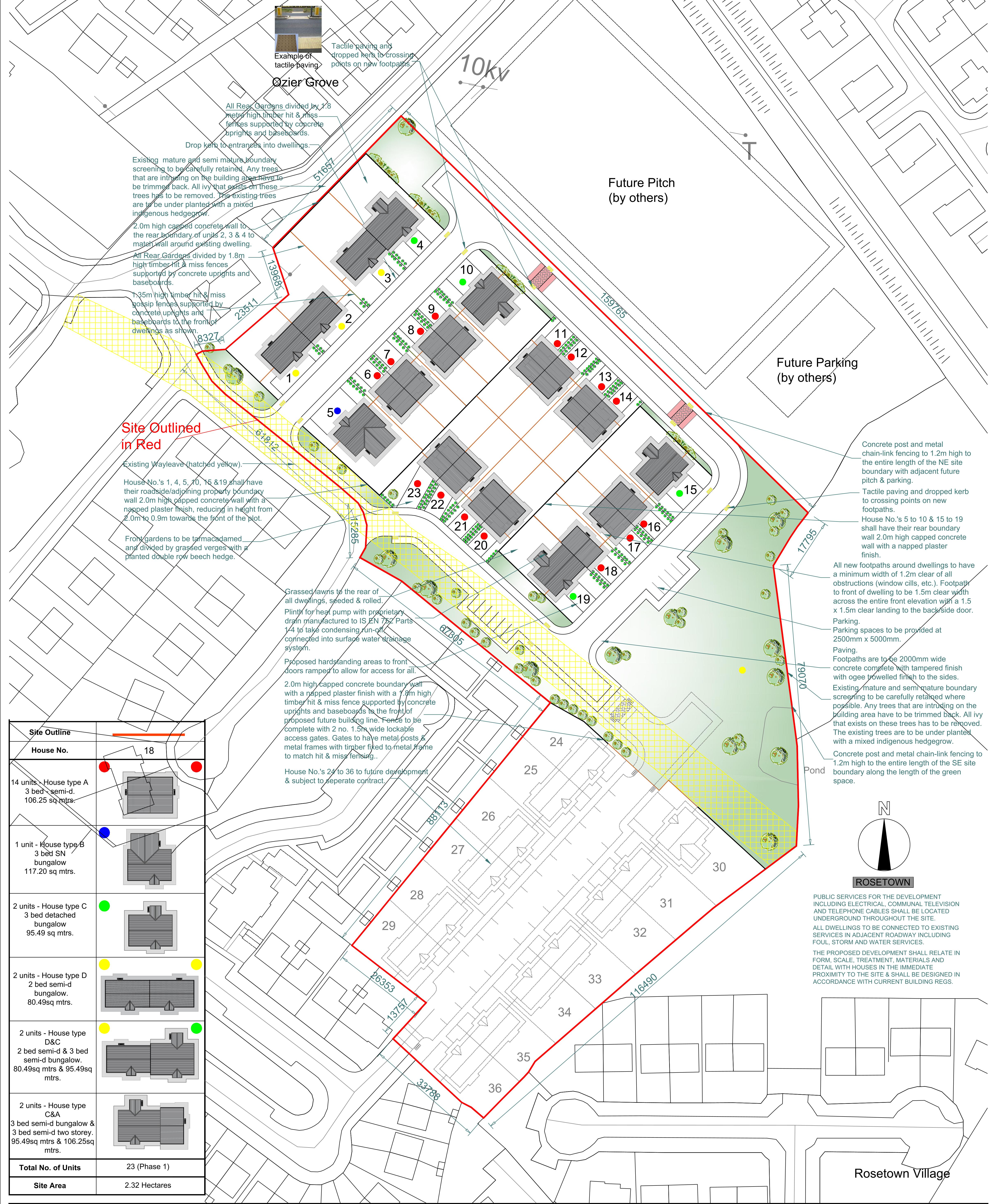 1913 PT 03 Rosetown Site Layout Plan A1-1