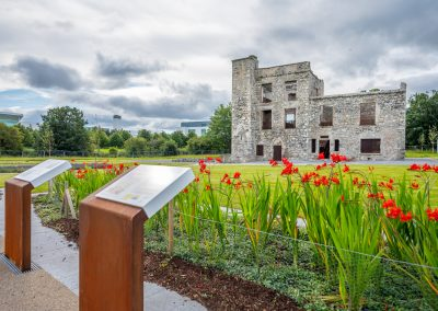 The restored building in new Pocket Park opens at Grange Castle Business Park